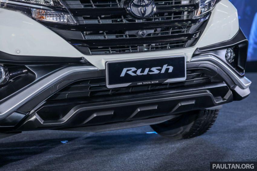 Toyota Rush 2018 rasmi dilancarkan di Malaysia – 7-tempat duduk, 1.5L, dua varian, harga RM93k-RM98k Image #874481