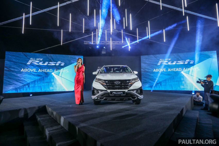 2018 Toyota Rush launched in Malaysia – new 1.5L engine, Pre-Collision System, est from RM93k Image #874543