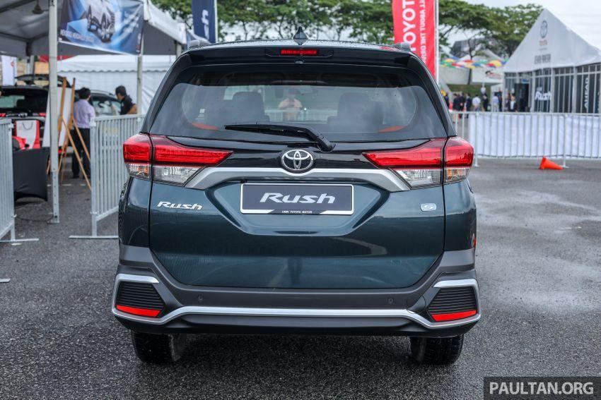 Toyota Rush 2018 rasmi dilancarkan di Malaysia – 7-tempat duduk, 1.5L, dua varian, harga RM93k-RM98k Image #874552