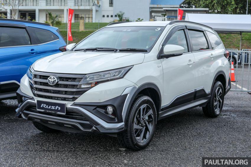 Toyota Rush 2018 rasmi dilancarkan di Malaysia – 7-tempat duduk, 1.5L, dua varian, harga RM93k-RM98k Image #874554