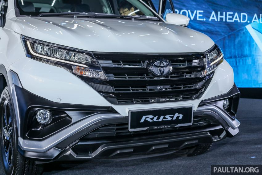 2018 Toyota Rush launched in Malaysia – new 1.5L engine, Pre-Collision System, est from RM93k Image #874566