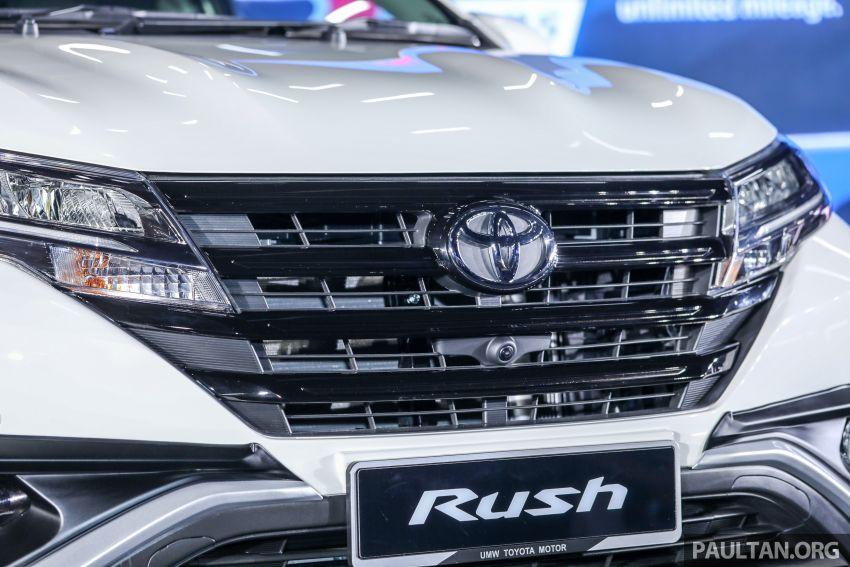 Toyota Rush 2018 rasmi dilancarkan di Malaysia – 7-tempat duduk, 1.5L, dua varian, harga RM93k-RM98k Image #874565