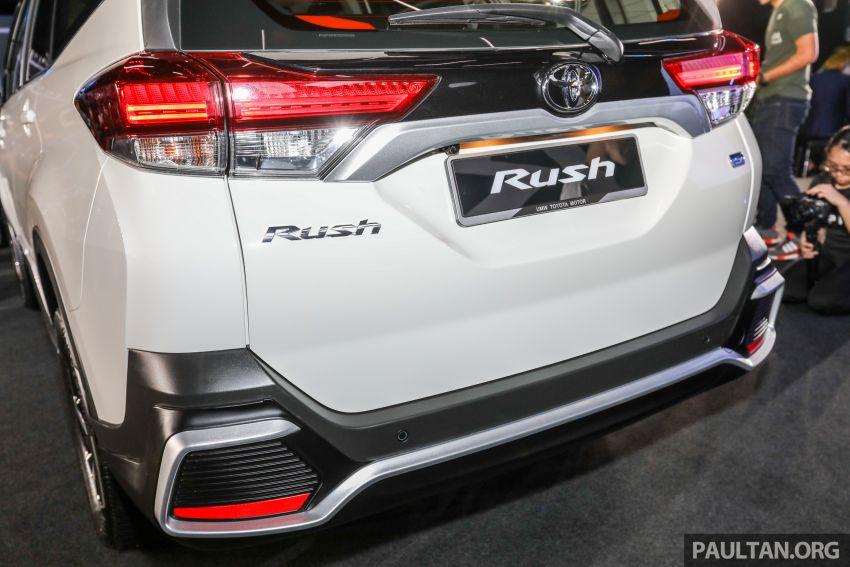 Toyota Rush 2018 rasmi dilancarkan di Malaysia – 7-tempat duduk, 1.5L, dua varian, harga RM93k-RM98k Image #874589