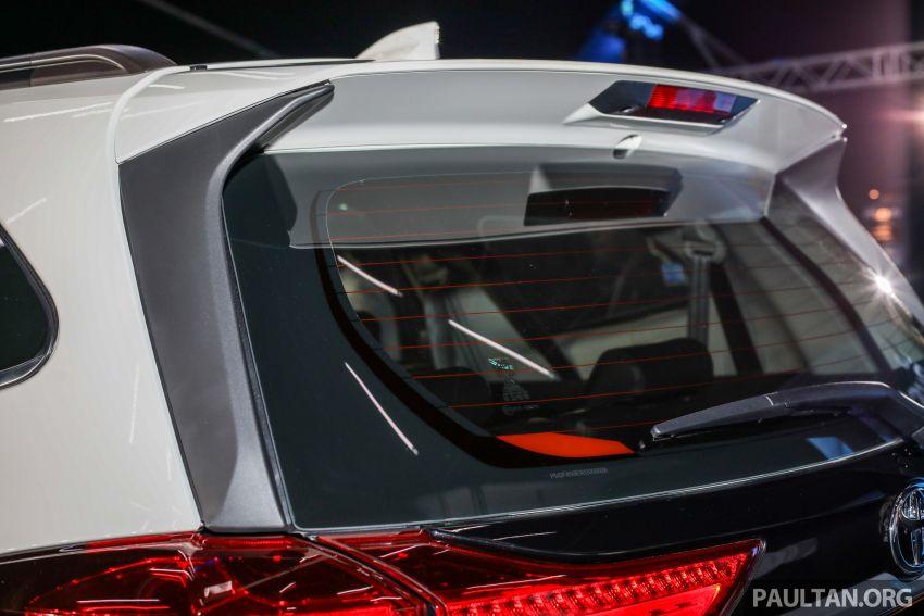 Toyota Rush 2018 rasmi dilancarkan di Malaysia – 7-tempat duduk, 1.5L, dua varian, harga RM93k-RM98k Image #874599