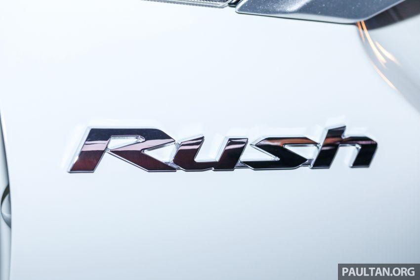 Toyota Rush 2018 rasmi dilancarkan di Malaysia – 7-tempat duduk, 1.5L, dua varian, harga RM93k-RM98k Image #874604