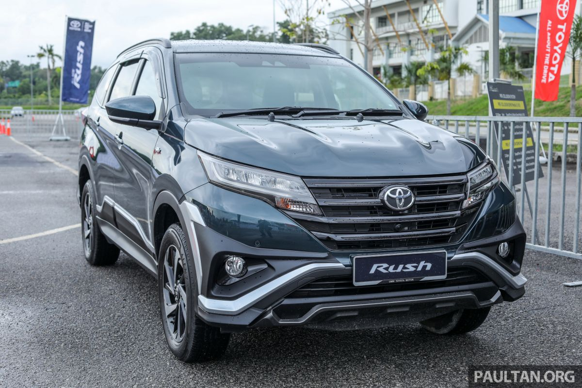 2018 toyota rush launched in malaysia  u2013 new 1 5l engine  pre