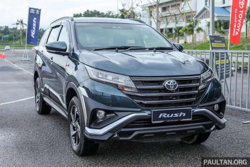 Toyota Rush 2018 rasmi dilancarkan di Malaysia – 7-tempat duduk, 1.5L, dua varian, harga RM93k-RM98k Image #874541