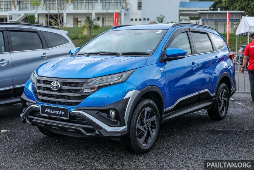 Toyota Rush 2018 rasmi dilancarkan di Malaysia – 7-tempat duduk, 1.5L, dua varian, harga RM93k-RM98k Image #874542