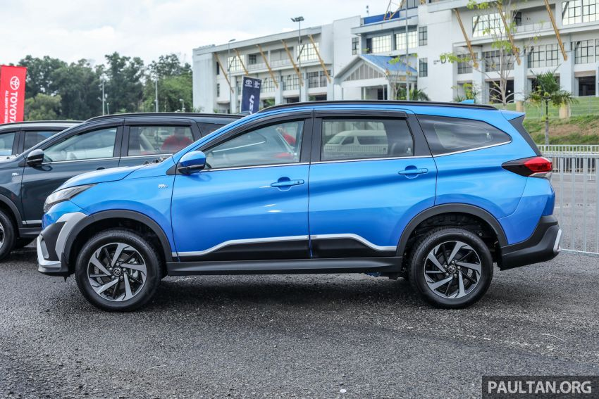 2018 Toyota Rush launched in Malaysia – new 1.5L engine, Pre-Collision System, est from RM93k Image #874553