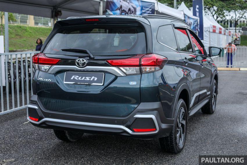 Toyota Rush 2018 rasmi dilancarkan di Malaysia – 7-tempat duduk, 1.5L, dua varian, harga RM93k-RM98k Image #874546