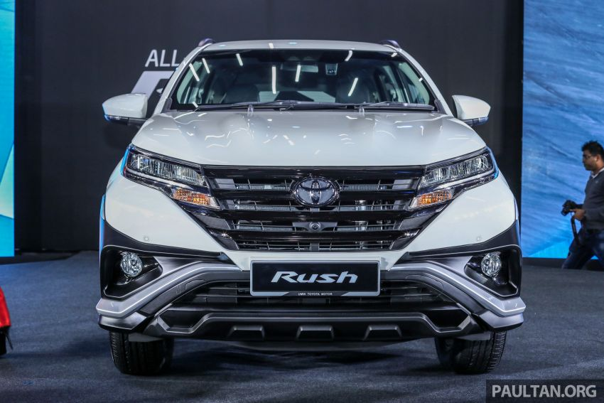 2018 Toyota Rush launched in Malaysia – new 1.5L engine, Pre-Collision System, est from RM93k Image #874559