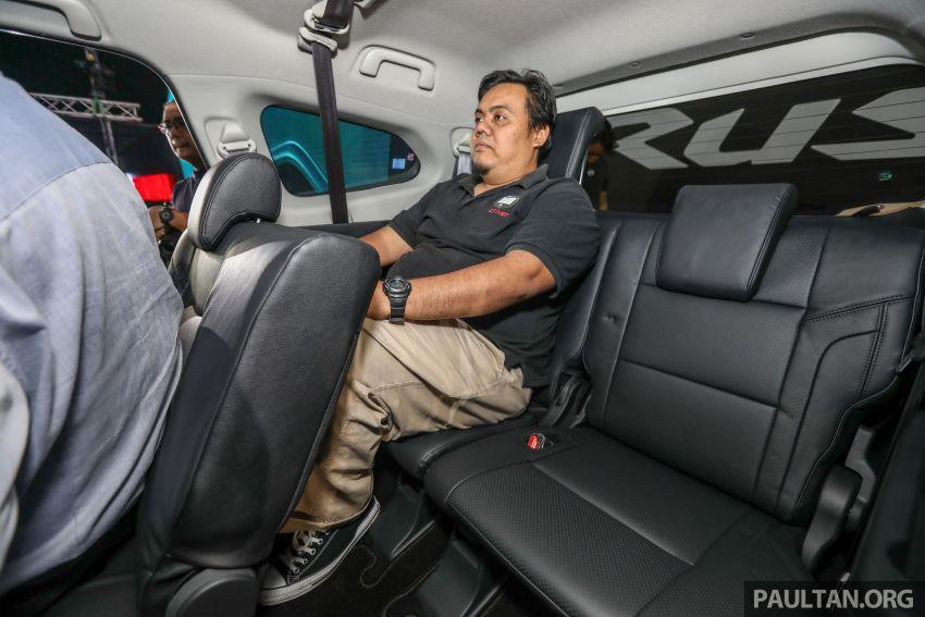 Toyota Rush 2018 rasmi dilancarkan di Malaysia – 7-tempat duduk, 1.5L, dua varian, harga RM93k-RM98k Image #874665