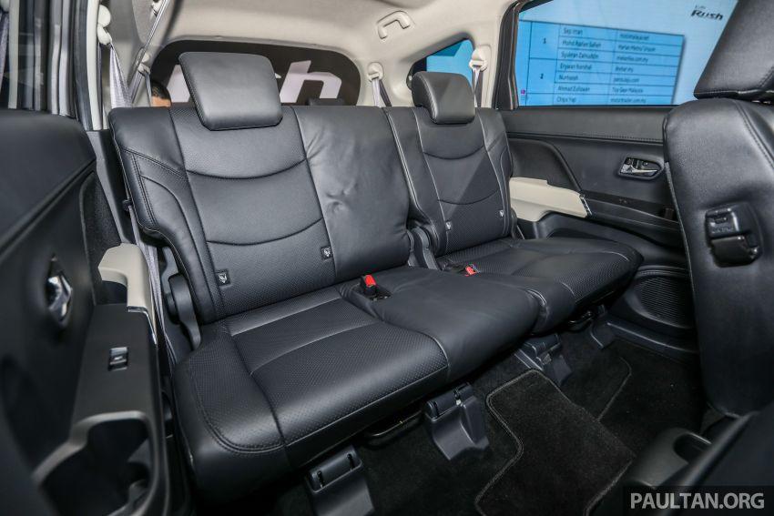 Toyota Rush 2018 rasmi dilancarkan di Malaysia – 7-tempat duduk, 1.5L, dua varian, harga RM93k-RM98k Image #874672