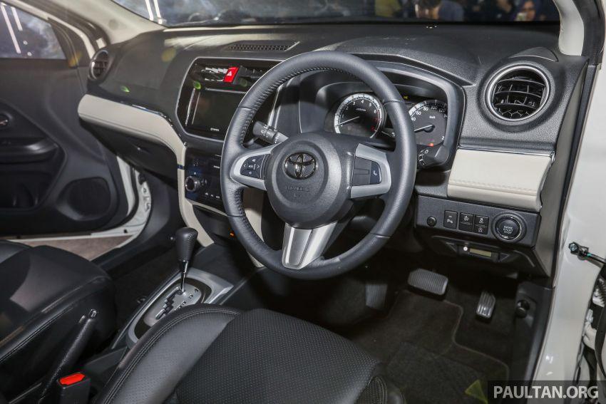 Toyota Rush 2018 rasmi dilancarkan di Malaysia – 7-tempat duduk, 1.5L, dua varian, harga RM93k-RM98k Image #874611