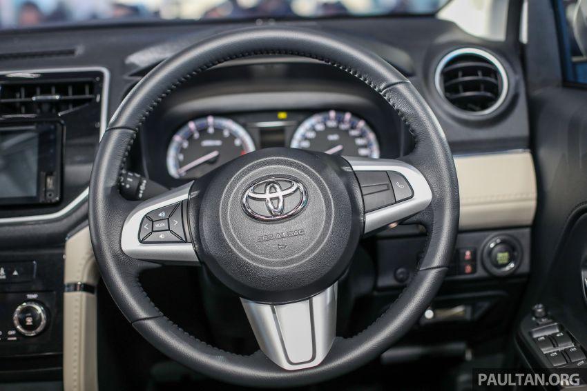 Toyota Rush 2018 rasmi dilancarkan di Malaysia – 7-tempat duduk, 1.5L, dua varian, harga RM93k-RM98k Image #874613