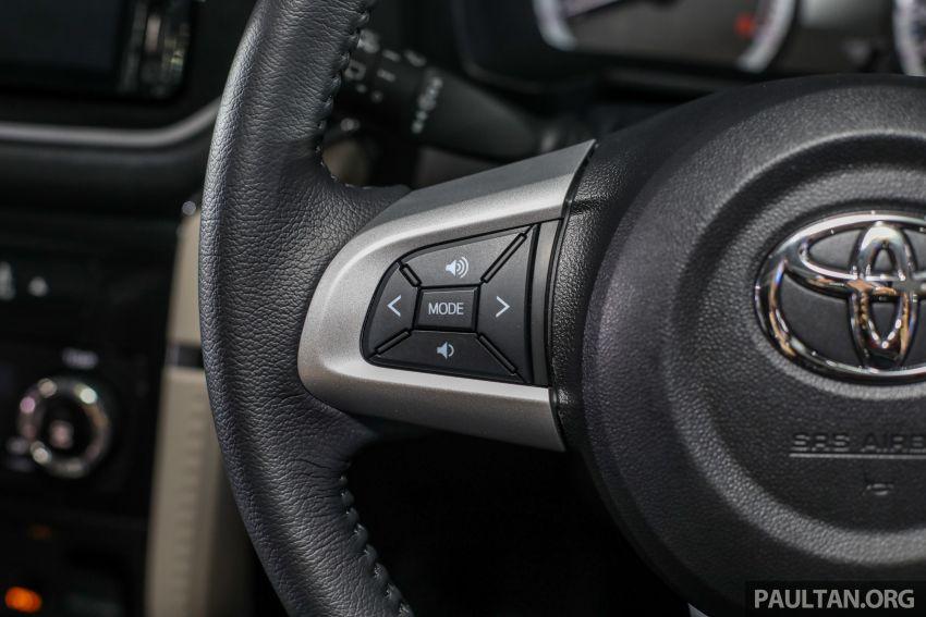 Toyota Rush 2018 rasmi dilancarkan di Malaysia – 7-tempat duduk, 1.5L, dua varian, harga RM93k-RM98k Image #874616
