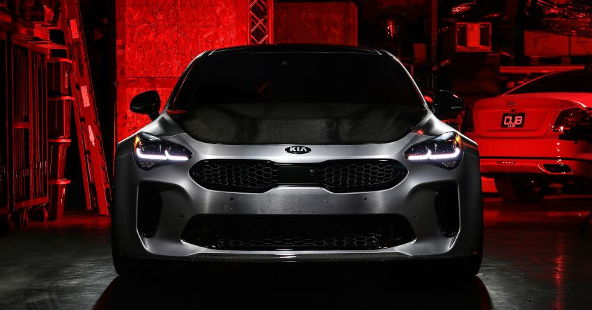2019 DUB Kia Stinger GT, K900 debut at SEMA show Image #881309