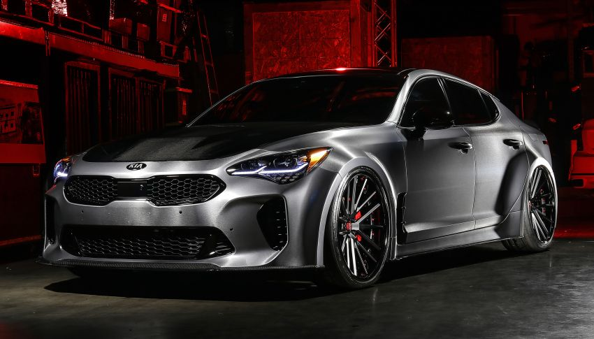 2019 DUB Kia Stinger GT, K900 debut at SEMA show Image #881294