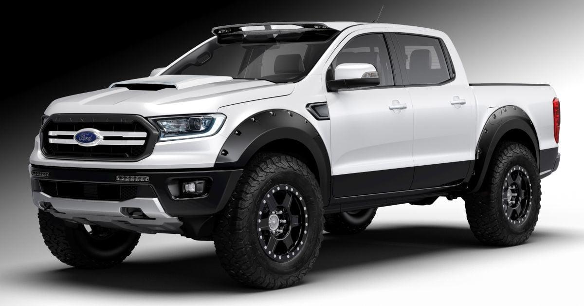 2019 ford ranger seven custom units sema bound. Black Bedroom Furniture Sets. Home Design Ideas