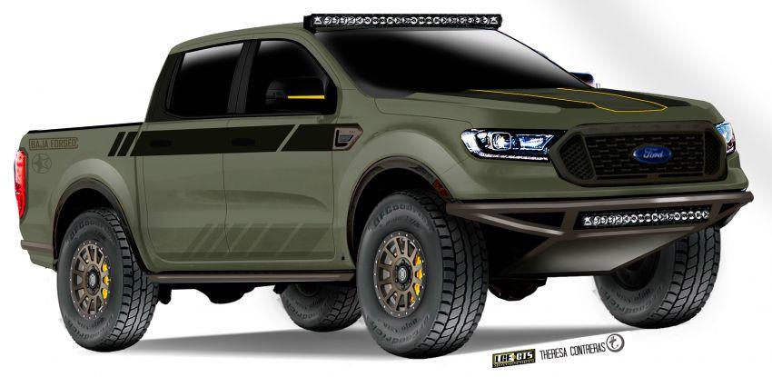 2019 Ford Ranger – seven custom units, SEMA-bound Image #880658