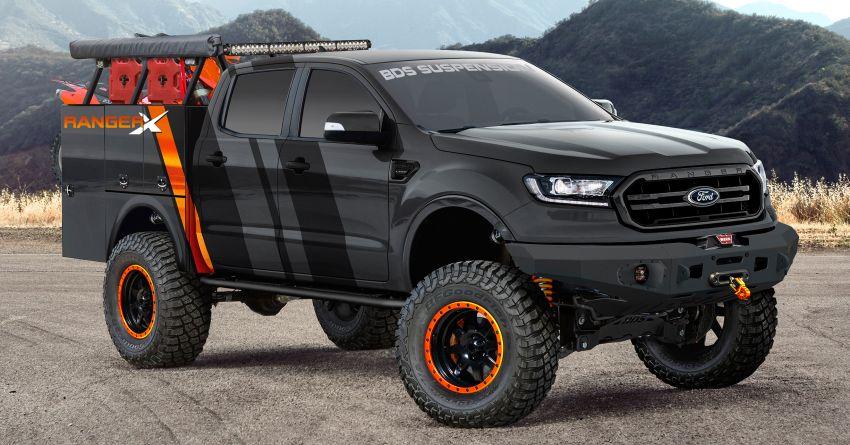 2019 Ford Ranger – seven custom units, SEMA-bound Image #880659