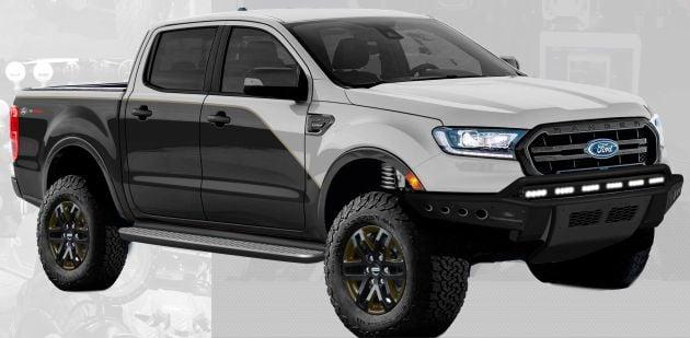 2019 Ford Ranger - seven custom units, SEMA-bound