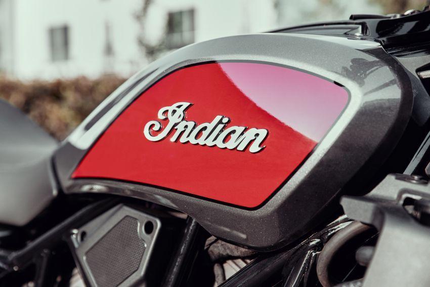 Indian FTR 1200 guna badan <em>flat tracker</em>, enjin 1,200 cc Image #867386