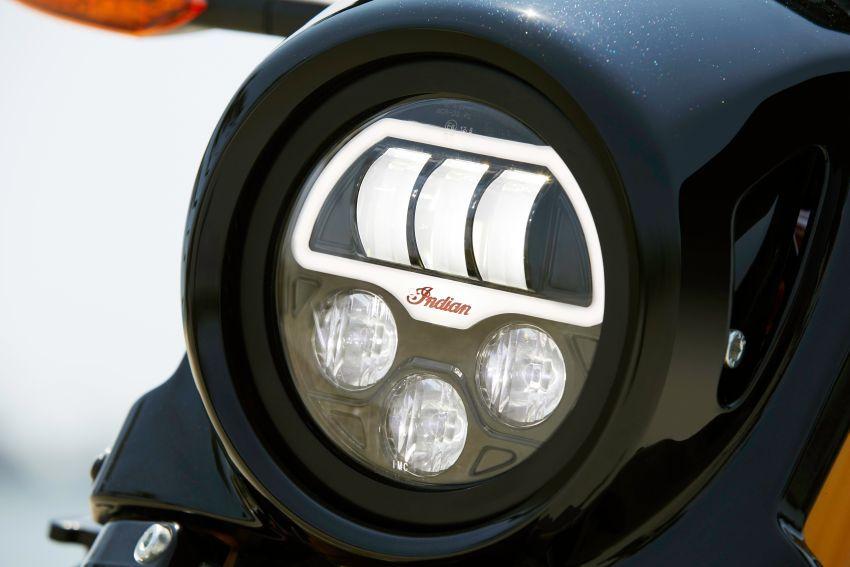 Indian FTR 1200 guna badan <em>flat tracker</em>, enjin 1,200 cc Image #867383