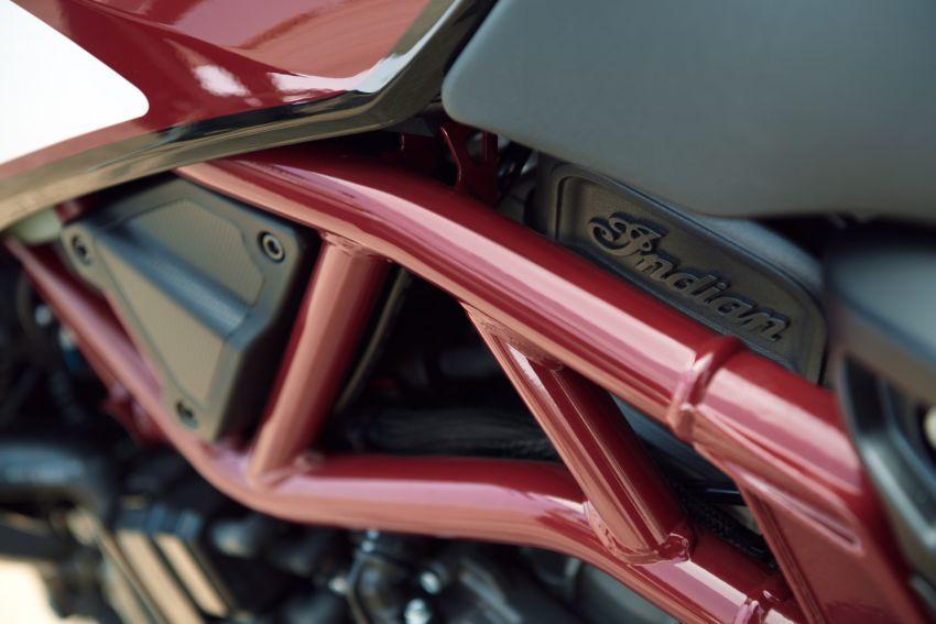 Indian FTR 1200 guna badan <em>flat tracker</em>, enjin 1,200 cc Image #867368