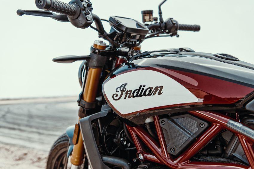 Indian FTR 1200 guna badan <em>flat tracker</em>, enjin 1,200 cc Image #867369