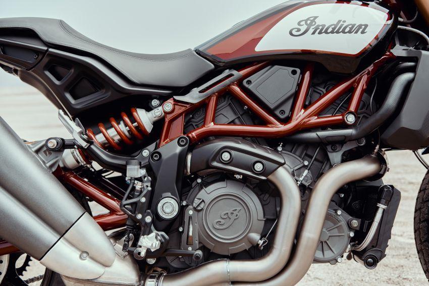Indian FTR 1200 guna badan <em>flat tracker</em>, enjin 1,200 cc Image #867371