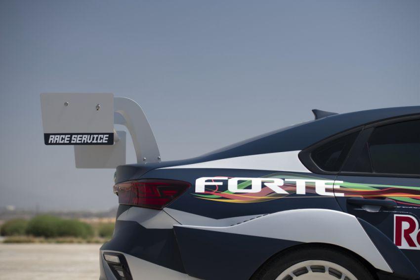 Kia Forte Drift Car unveiled with Stinger GT's 3.3L V6! Image #881185