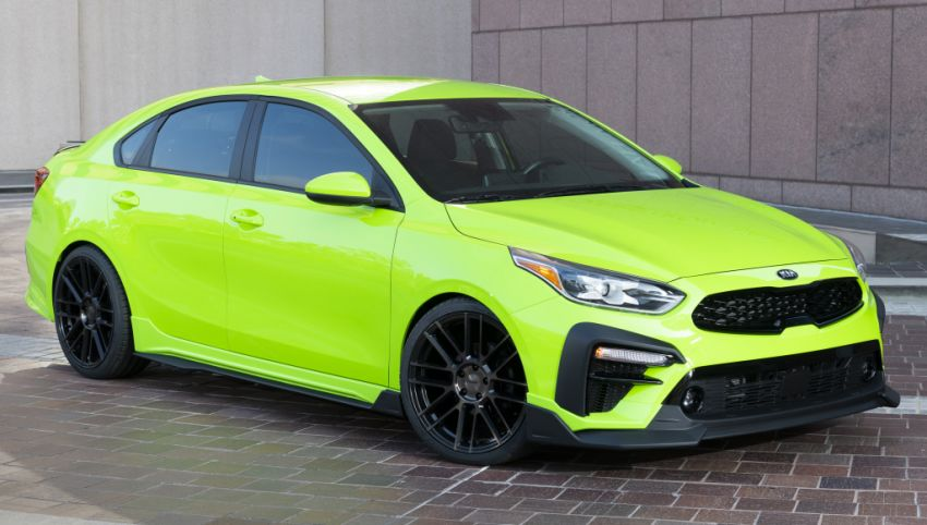 Kia Forte Drift Car unveiled with Stinger GT's 3.3L V6! Image #881206