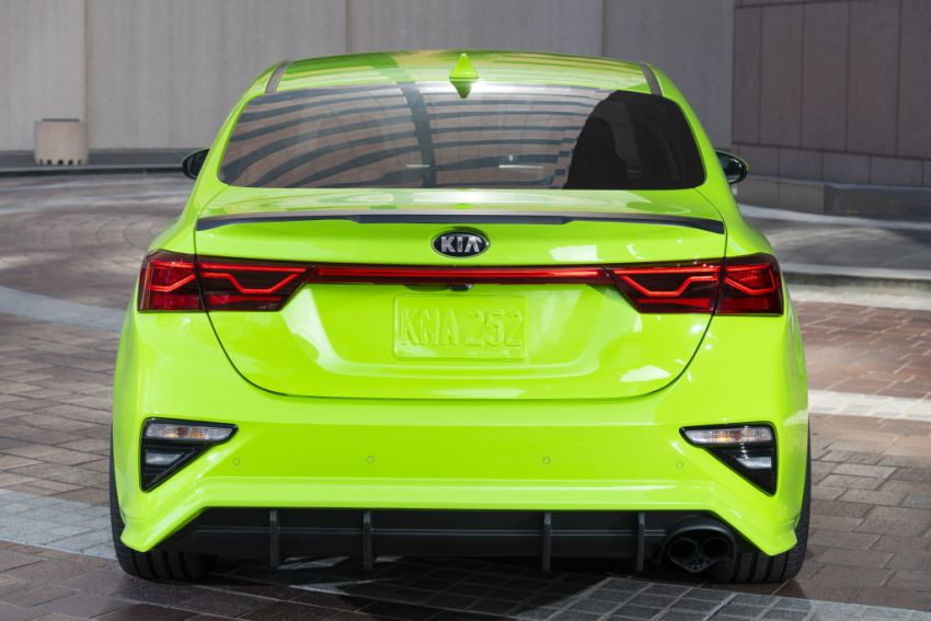 Kia Forte Drift Car unveiled with Stinger GT's 3.3L V6! Image #881207