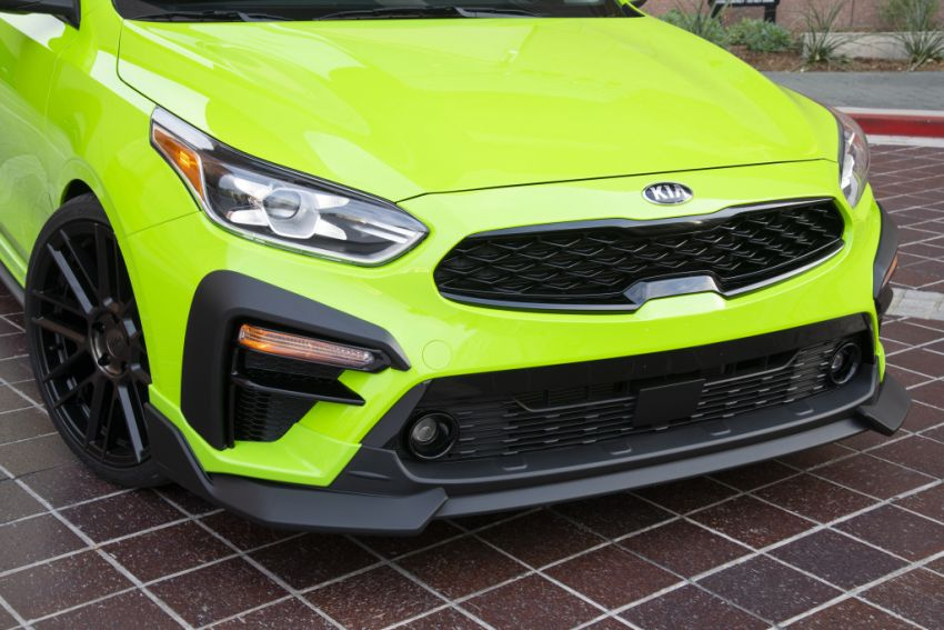 Kia Forte Drift Car unveiled with Stinger GT's 3.3L V6! Image #881208