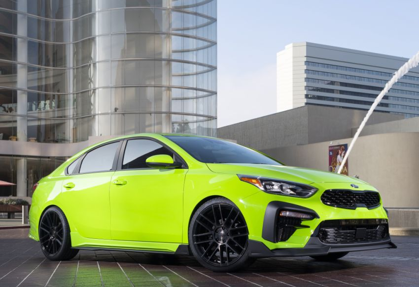 Kia Forte Drift Car unveiled with Stinger GT's 3.3L V6! Image #881200