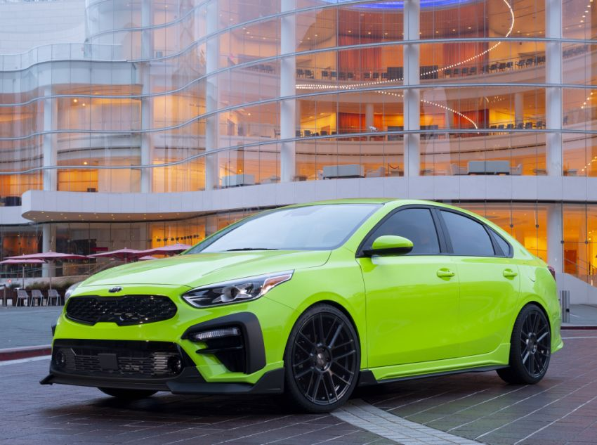 Kia Forte Drift Car unveiled with Stinger GT's 3.3L V6! Image #881202