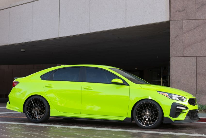 Kia Forte Drift Car unveiled with Stinger GT's 3.3L V6! Image #881203