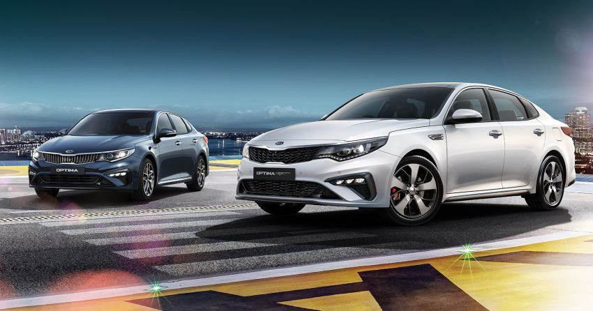 2019 Kia Optima facelift arrives in Malaysia – NA and turbo engines listed; GT variant; from RM169,888 Image #879571