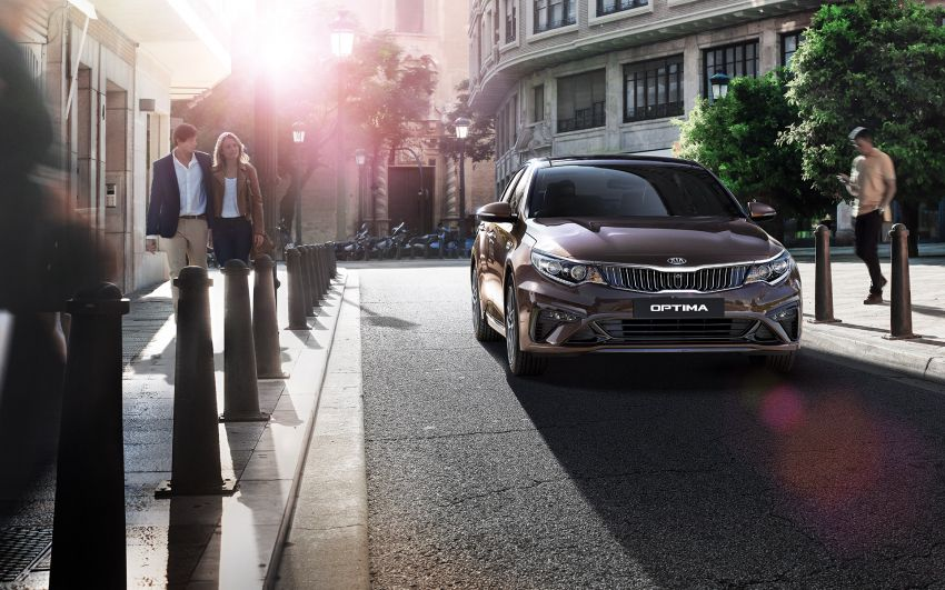 2019 Kia Optima facelift arrives in Malaysia – NA and turbo engines listed; GT variant; from RM169,888 Image #879573