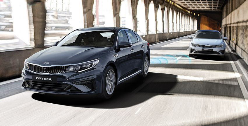 2019 Kia Optima facelift arrives in Malaysia – NA and turbo engines listed; GT variant; from RM169,888 Image #879574