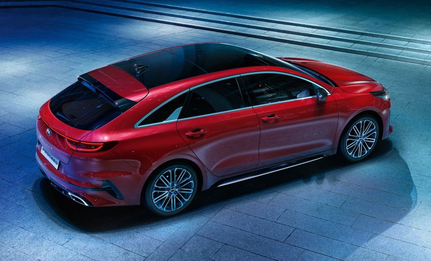 Kia ProCeed shooting brake makes its debut in Paris Image #867872