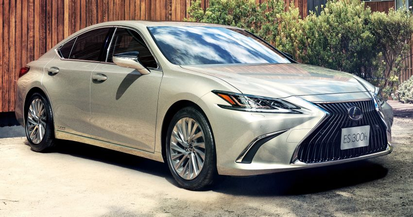 2019 Lexus ES launched in Japan – world's first side-view cameras, ES 300h hybrid only, RM216k to RM259k Image #878707