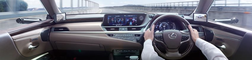 2019 Lexus ES launched in Japan – world's first side-view cameras, ES 300h hybrid only, RM216k to RM259k Image #878731