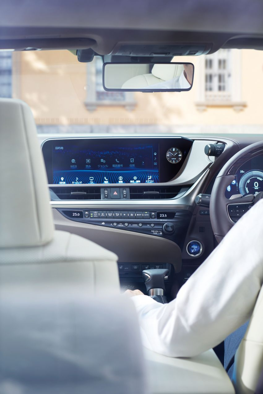 2019 Lexus ES launched in Japan – world's first side-view cameras, ES 300h hybrid only, RM216k to RM259k Image #878742