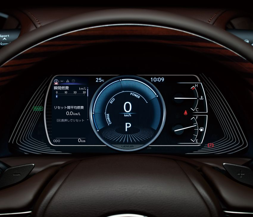 2019 Lexus ES launched in Japan – world's first side-view cameras, ES 300h hybrid only, RM216k to RM259k Image #878767