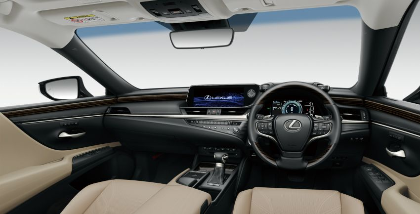 2019 Lexus ES launched in Japan – world's first side-view cameras, ES 300h hybrid only, RM216k to RM259k Image #878781