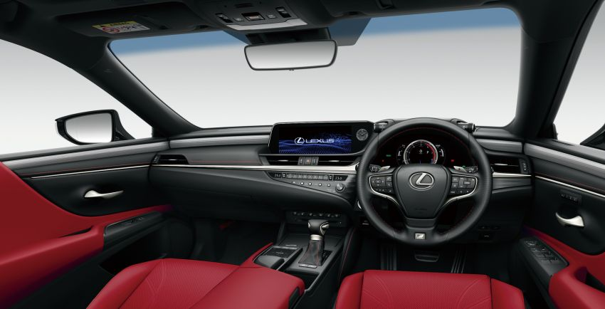 2019 Lexus ES launched in Japan – world's first side-view cameras, ES 300h hybrid only, RM216k to RM259k Image #878784