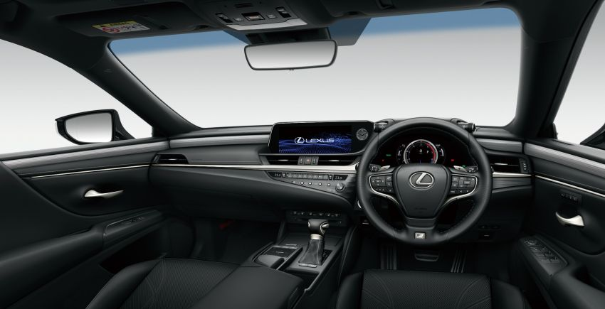 2019 Lexus ES launched in Japan – world's first side-view cameras, ES 300h hybrid only, RM216k to RM259k Image #878785