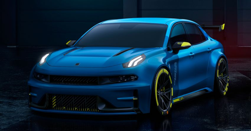 Lynk & Co 03 Cyan – 500 hp WTCR road car concept Image #875927